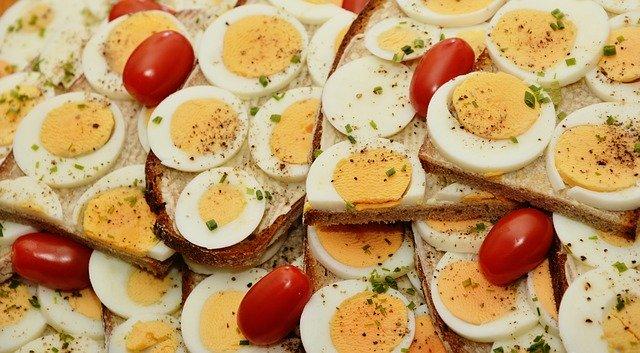 chleba s vajíčky