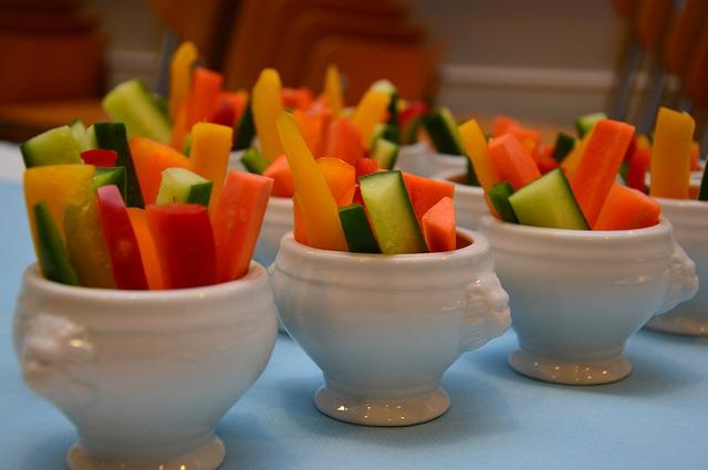 servírovaná zelenina