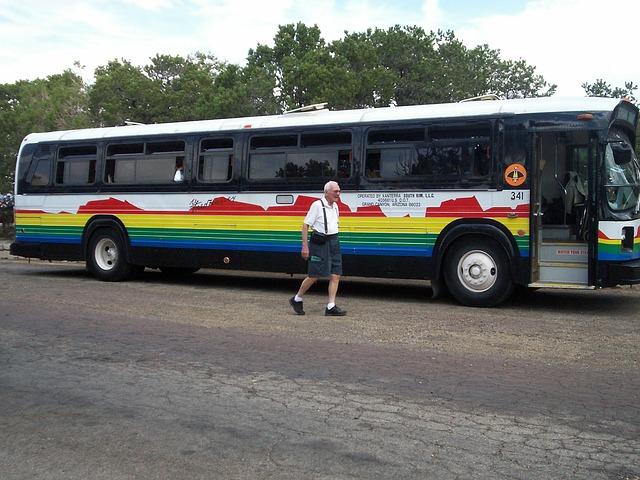 zájezdní autobuis