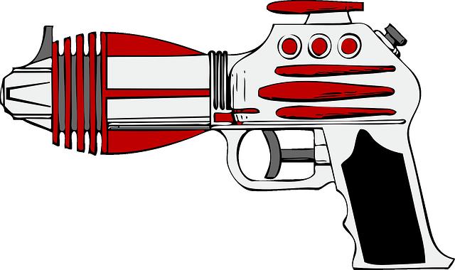 laserová zbraň