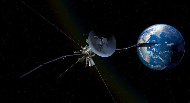 Jeden ze satelitů
