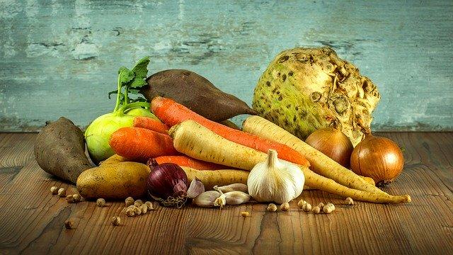 Výběr zeleniny
