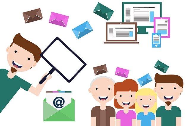 obchodní email