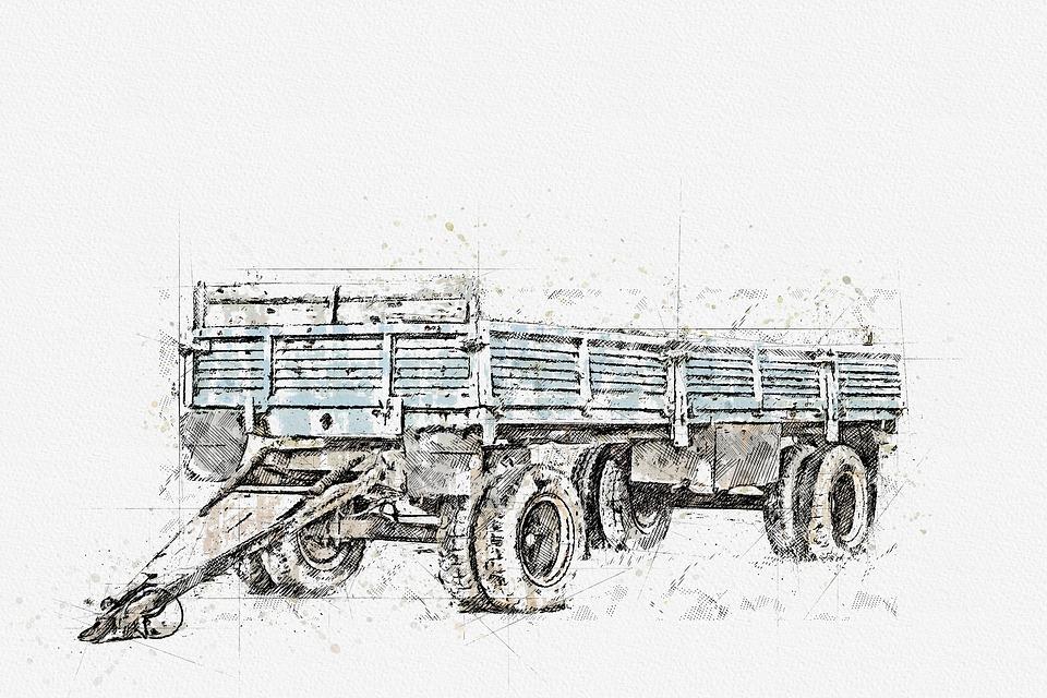 přívěsný vozík